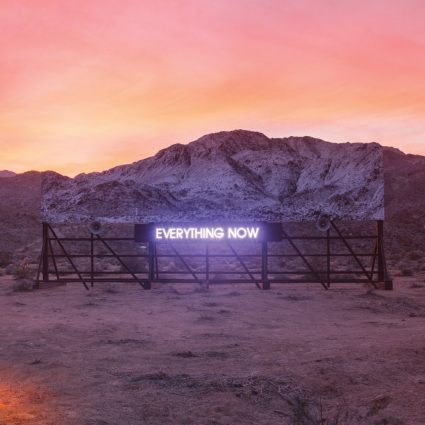 """Everything now"". Arcade Fire everything now arcade fire"
