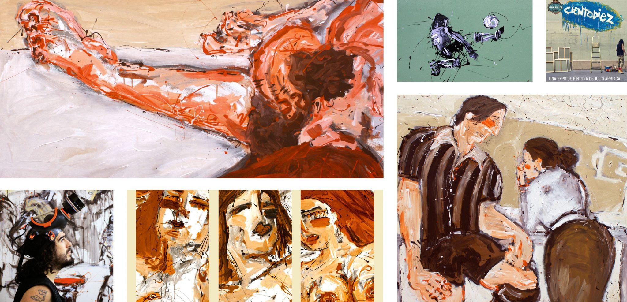 Julio Arriaga, Elartixta xtudio pintura julio arriaga elartixta auxmagazine arte