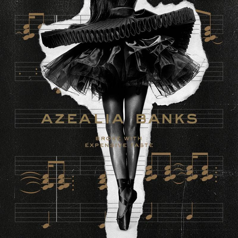 Broke with Expensive Taste. Azealia Banks auxmagazine
