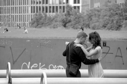 The Dance Lesson street photography dance couple berlin