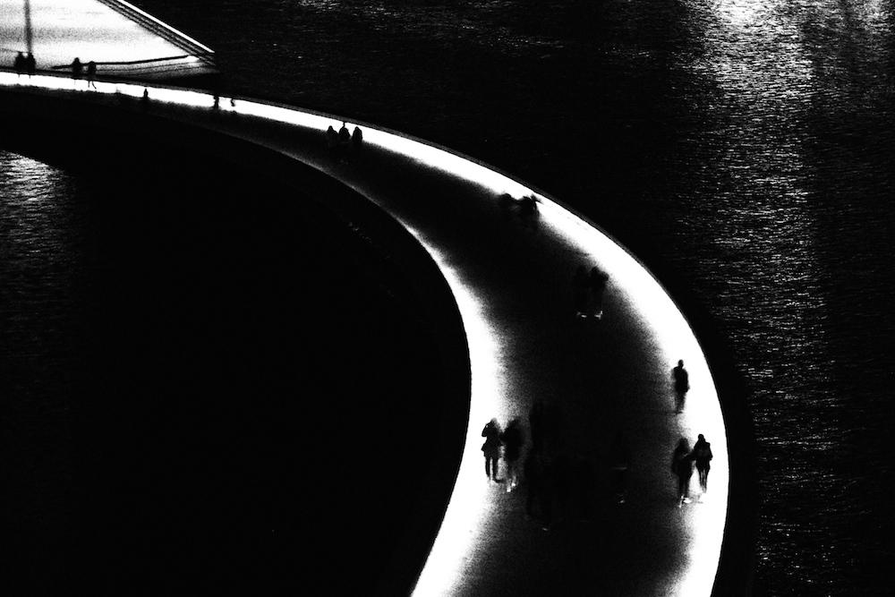 Darkness city life bilbao