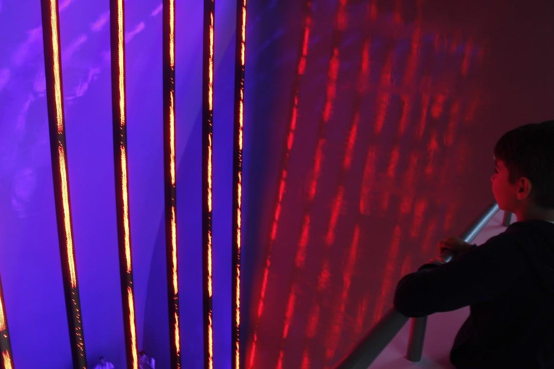 Guggenheim Bilbao Museum. Interior