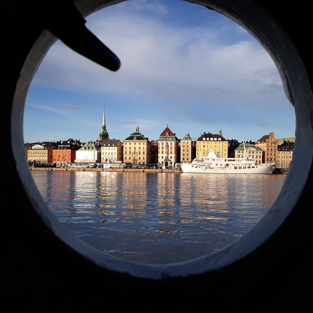 Stockholm from the ship
