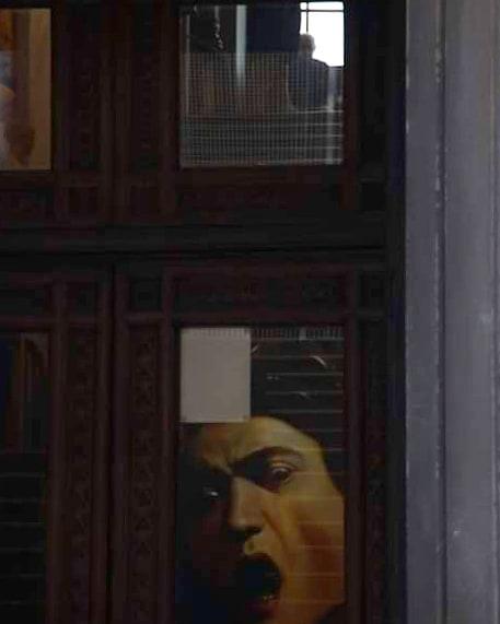 Caravaggio on the window