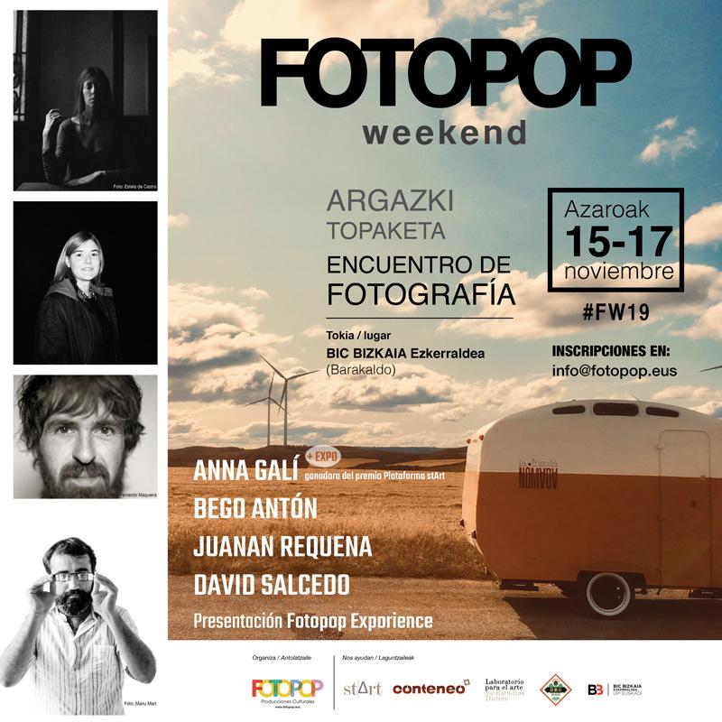 Fotopop Weekend. La fiesta de la fotografía en Barakaldo
